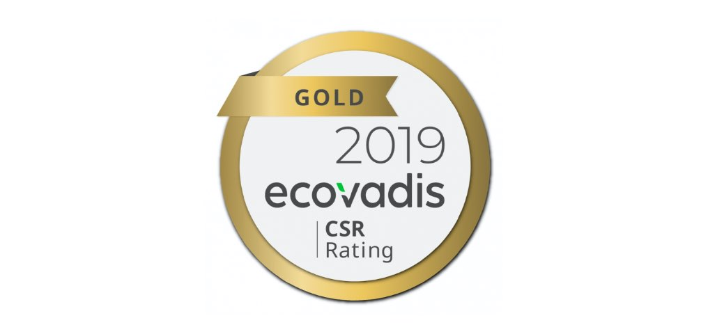 EcoVadis Gold-certificering