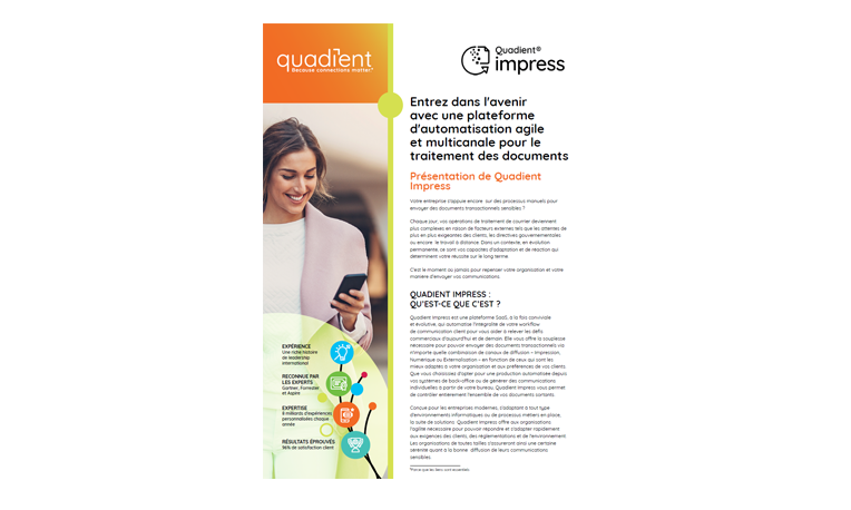 Brochure - Quadient Impress