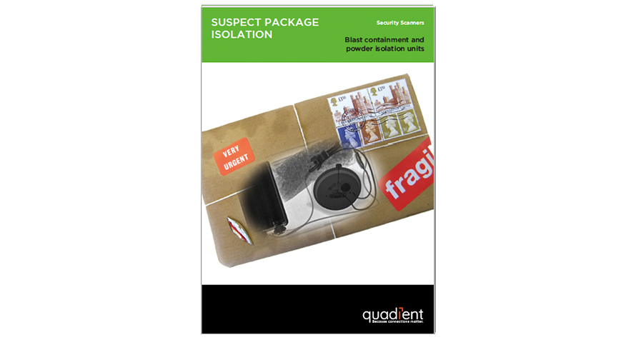 Quadient Suspect Package Containment Brochure