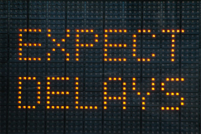 Expect Delays Graphic