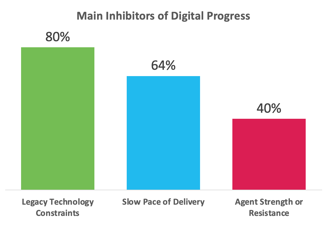 Main Inhibitors of Digital Progress