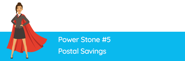 Power Stone #5 - Postal Savings
