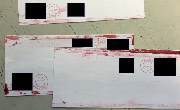 Ruined envelopes