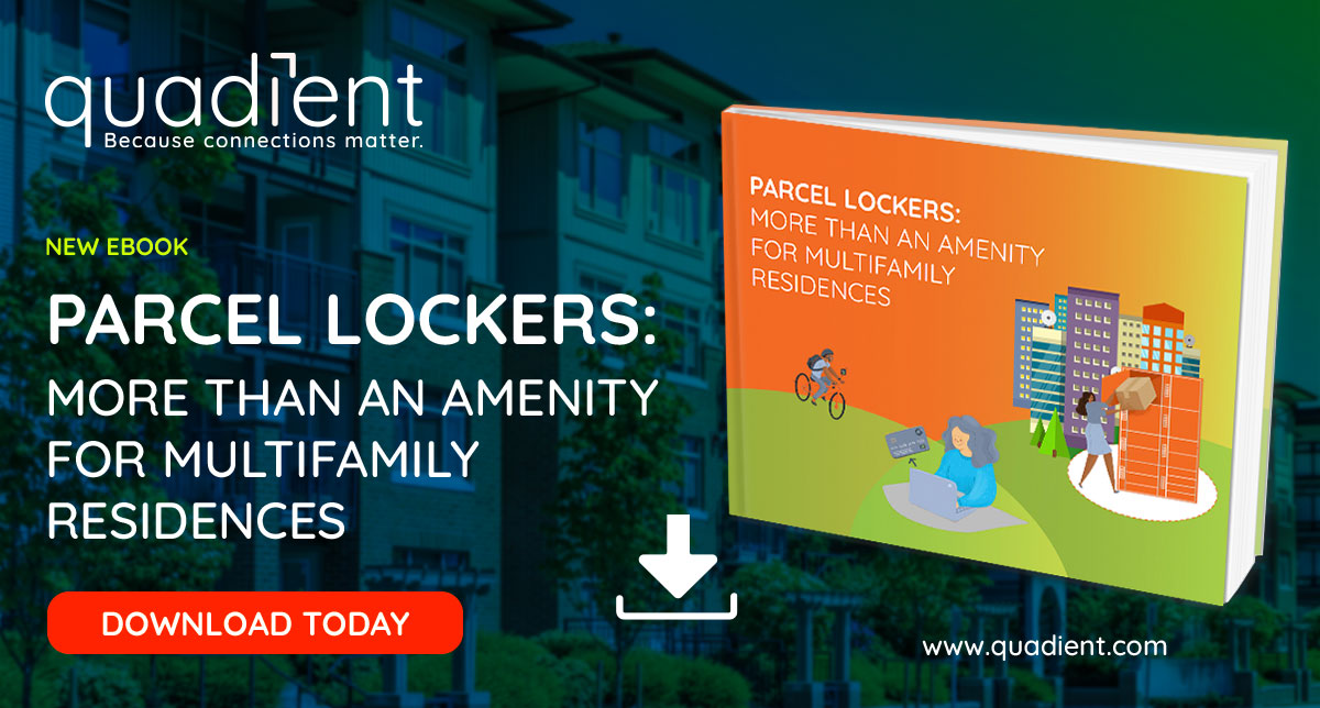 Parcel lockers: More than an amenity for multifamily residences