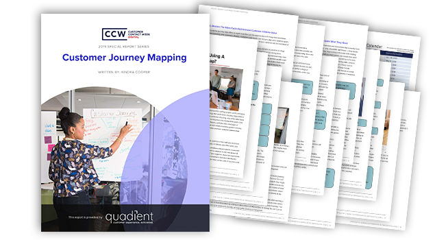 Special Report 2019 von CCW: Customer Journey Mapping