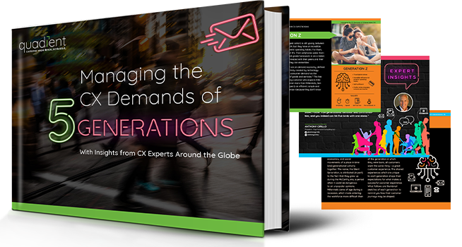 5 Generations and Their CX Expectations: Exploring the differences and similarities