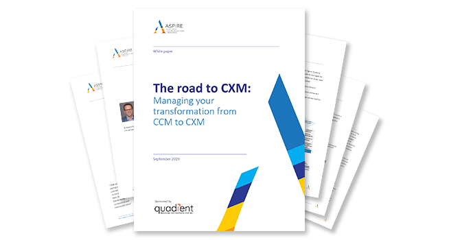 ​​​​How to Determine Where You Are in the Transition from CCM to CXM