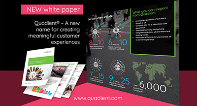 Quadient a new name for creating meaningful customer experiences white paper