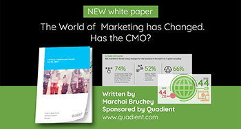 The World of Marketing Has Changed, Has the CMO?