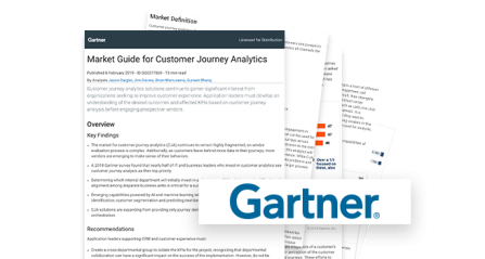 Gartner Market Guide for Customer Journey Analytics