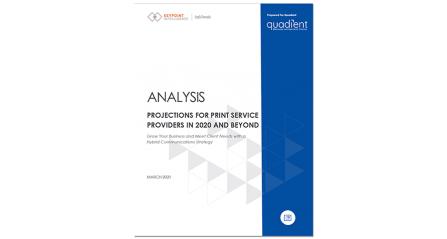 InfoTrends Report: Future Projections for Print Service Providers