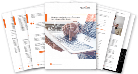 How Automation Impacts Document Workflow: A Pilot Study