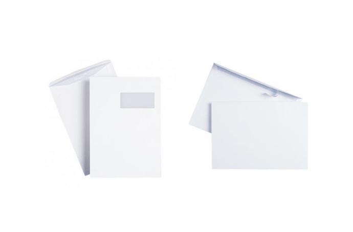 enveloppes mecanisables auto-adhesives
